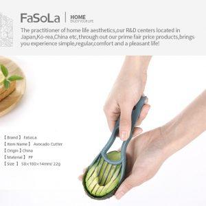 Avocado Cutter Knife Peeler