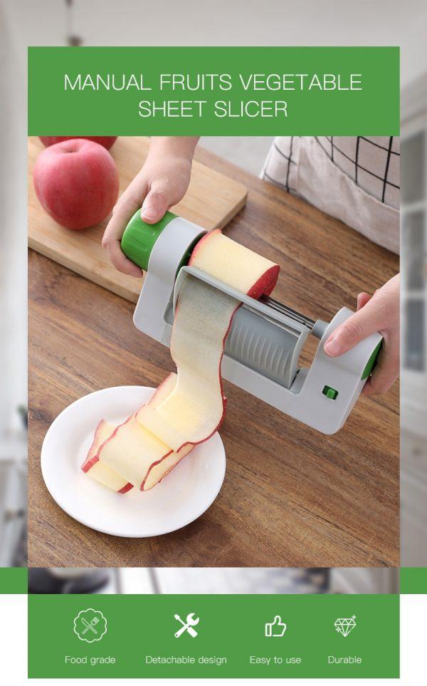 Vegetable Sheet Slicer Kitchen Gadget