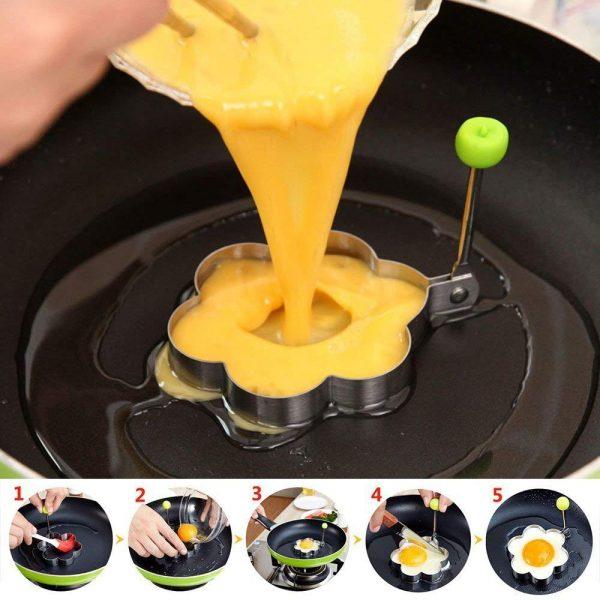 Egg Fried Mold Tool Animal Shape Shaper Pancake