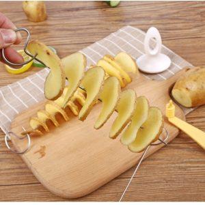 Potato Spiral Cutter Cucumber Slicer