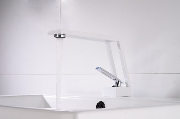 Faucet Cold & Hot Water Mixer Luxury Bathroom Faucet Hollow design