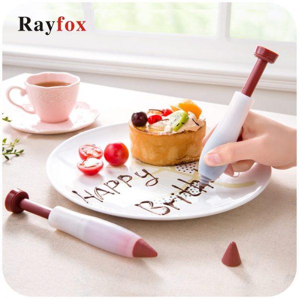 Silicone Food Writing Pen Chocolate Cake Decorating