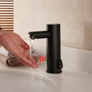 Automatic Sensor Faucet Bathroom Hot & Cold Water Mixer